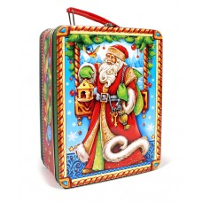 """Новогодняя жестяная упаковка """"Счастливого Рождества"""""""